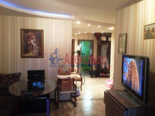 3-комнатная квартира (90м2) на продажу по адресу Всеволожск г., Колтушское шос., 44— фото 2 из 7