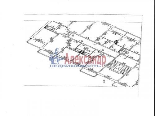 1-комнатная квартира (36м2) на продажу по адресу Всеволожск г., Пугаревский пр-зд, 1— фото 2 из 5