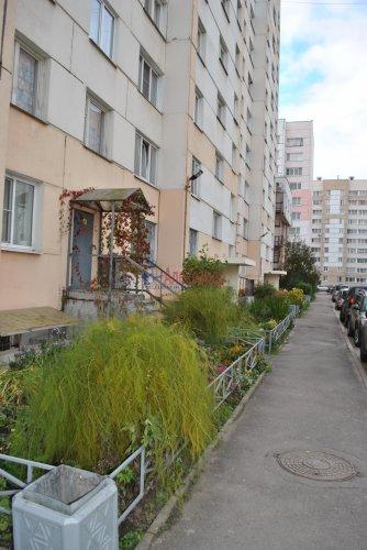 1-комнатная квартира (41м2) на продажу по адресу Шушары пос., Пушкинская ул., 3— фото 15 из 15