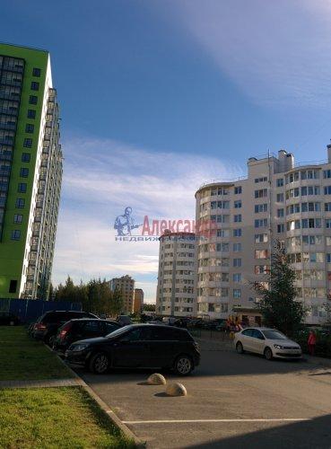 1-комнатная квартира (43м2) на продажу по адресу Всеволожск г., Доктора Сотникова ул., 1— фото 9 из 12