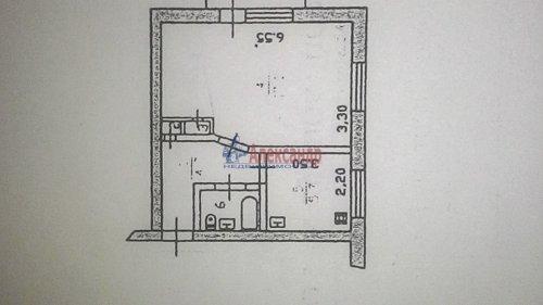 1-комнатная квартира (31м2) на продажу по адресу Глебычево пос., 7— фото 1 из 12