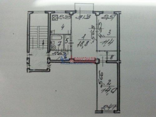 3-комнатная квартира (60м2) на продажу по адресу Полюстровский пр., 19— фото 3 из 20