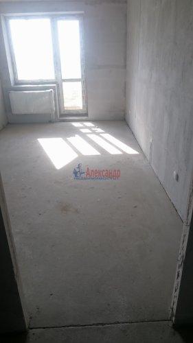 1-комнатная квартира (34м2) на продажу по адресу Кудрово дер., Европейский просп., 14— фото 5 из 7