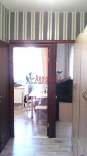 1-комнатная квартира (38м2) на продажу по адресу Туристская ул., 30— фото 4 из 7