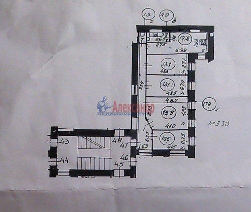 3-комнатная квартира (97м2) на продажу по адресу Загородный пр., 12— фото 19 из 19