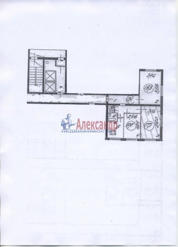 3-комнатная квартира (70м2) на продажу по адресу Тихорецкий пр., 33— фото 2 из 7