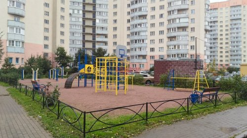 1-комнатная квартира (37м2) на продажу по адресу Мурино пос., Оборонная ул., 2— фото 2 из 23