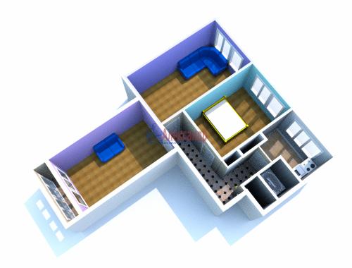 3-комнатная квартира (61м2) на продажу по адресу Черкасова ул., 19— фото 10 из 10