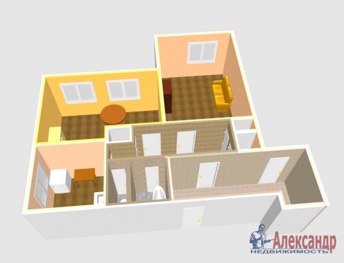 2-комнатная квартира (53м2) на продажу по адресу Богатырский пр., 6— фото 6 из 10