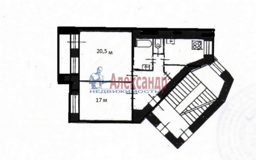 2-комнатная квартира (62м2) на продажу по адресу Благодатная ул., 46— фото 29 из 29