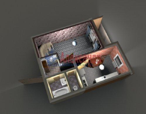 1-комнатная квартира (37м2) на продажу по адресу Коллонтай ул., 28— фото 2 из 10