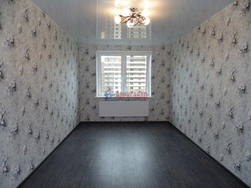1-комнатная квартира (36м2) на продажу по адресу Мурино пос., Новая ул., 7— фото 2 из 13