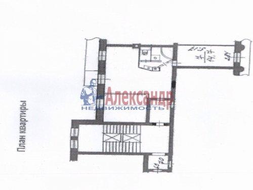 3-комнатная квартира (73м2) на продажу по адресу Московский просп., 191— фото 19 из 20