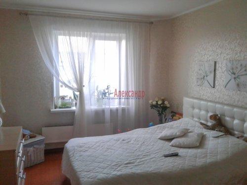 2-комнатная квартира (57м2) на продажу по адресу Всеволожск г., Ленинградская ул., 3— фото 2 из 5