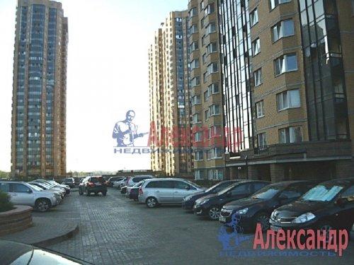 1-комнатная квартира (42м2) на продажу по адресу Парголово пос., Валерия Гаврилина ул., 3— фото 3 из 8