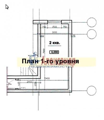 2-комнатная квартира (56м2) на продажу по адресу Мистолово дер., Центральная ул., 2— фото 14 из 14