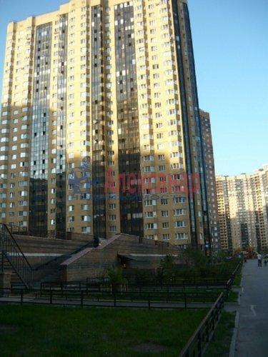 1-комнатная квартира (42м2) на продажу по адресу Парголово пос., Валерия Гаврилина ул., 3— фото 1 из 8