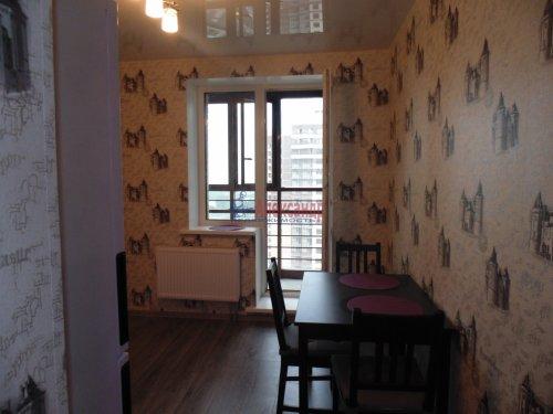 1-комнатная квартира (36м2) на продажу по адресу Мурино пос., Новая ул., 7— фото 3 из 13