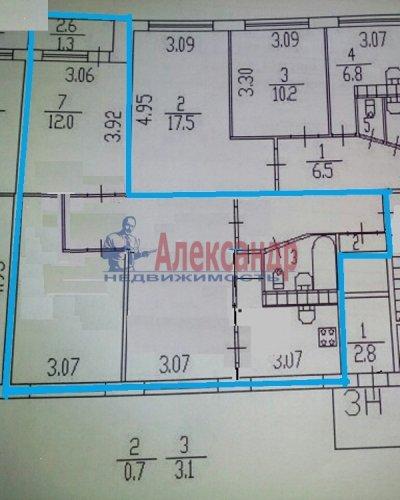 3-комнатная квартира (60м2) на продажу по адресу Гражданский пр., 90— фото 21 из 25