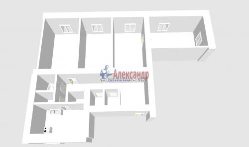 4-комнатная квартира (134м2) на продажу по адресу Стачек пр., 67— фото 1 из 2