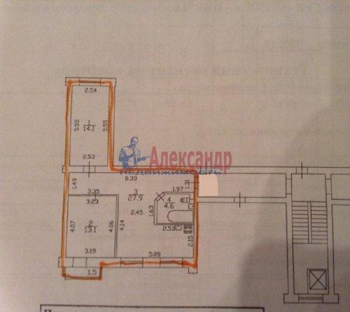 2-комнатная квартира (62м2) на продажу по адресу Бассейная ул., 85— фото 8 из 12