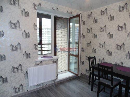 1-комнатная квартира (36м2) на продажу по адресу Мурино пос., Новая ул., 7— фото 1 из 13