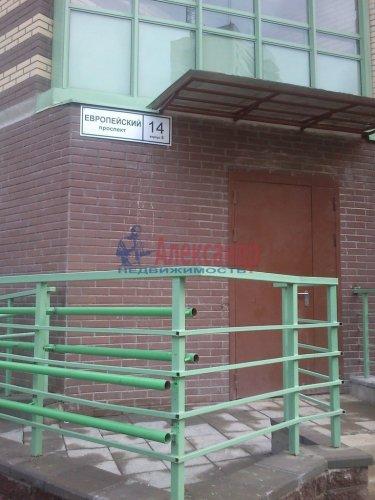 1-комнатная квартира (34м2) на продажу по адресу Кудрово дер., Европейский просп., 14— фото 7 из 7