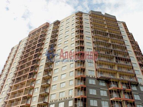 2-комнатная квартира (57м2) на продажу по адресу Мурино пос., Шоссе в Лаврики ул., 85— фото 1 из 9