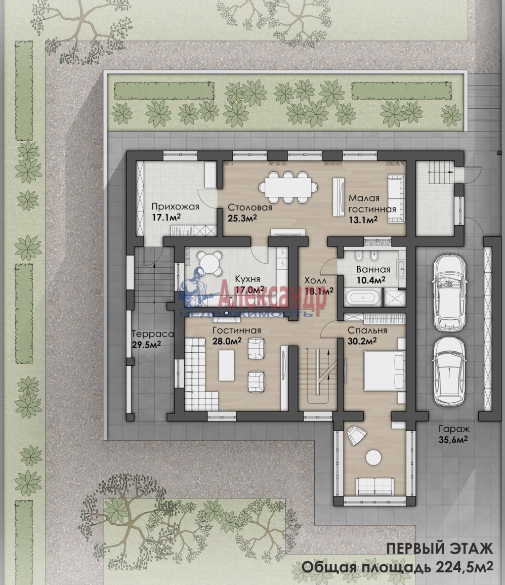 Жилой дом (404м2) на продажу — фото 11 из 12