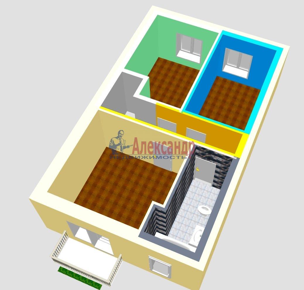 Таун-хаус (90м2) на продажу — фото 3 из 18