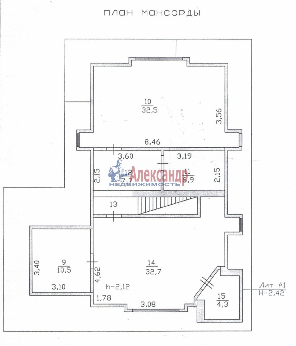 Коттедж (214м2) на продажу — фото 6 из 7